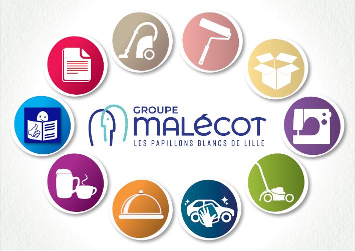 Prestations et Services des Ateliers Malécot Papillons Blancs de Lille